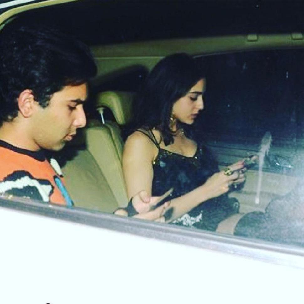 Sara Ali Khan, सारा अली खान, Saif Ali Khan, सैफ अली खान, वायरल फोटो, Viral Photo
