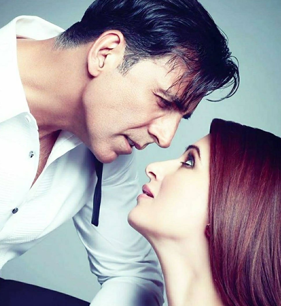Akshay Kumar and Twinkle Khanna's photoshoot for 'Hello!' magazine
