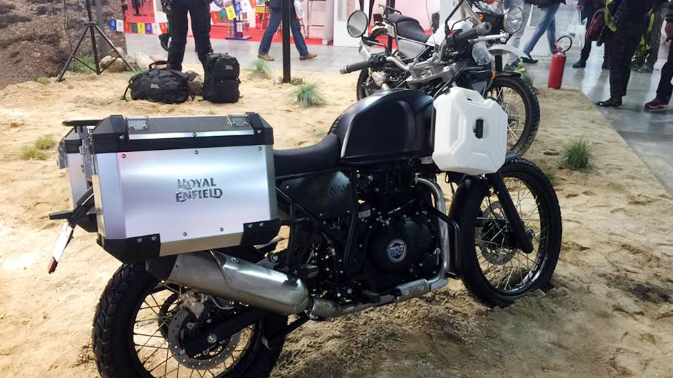 Royal Enfield going to launch its newly featured bike Himalayan Fi 2018