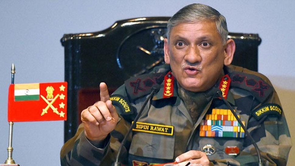 डोकलाम में सैनिकों की कमी पर चीन की चुप्पी, जनरल बिपिन रावत ने दिया था बयान