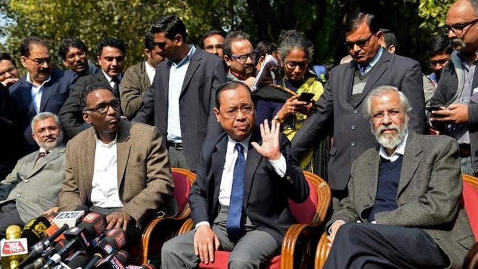सुप्रीम कोर्ट के 4 जजों का बयान, कांग्रेस ने लोकतंत्र को बताया खतरे में