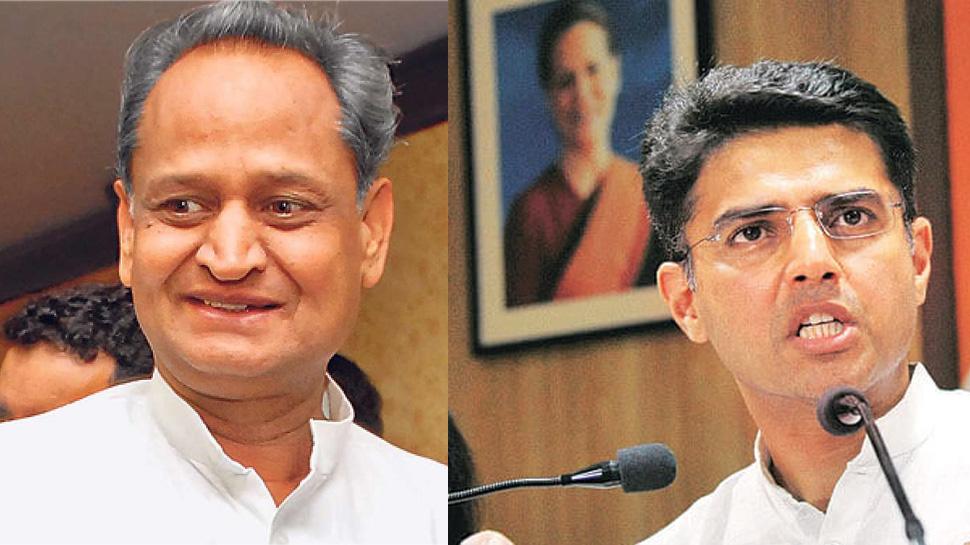 राजस्थान: अशोक गहलोत ने साधा पायलट पर निशाना - CM बनने का सपना देखने लगे हैं सचिन