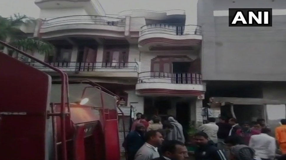 जयपुर : सिलेंडर फटने से एक परिवार के 5 लोगों की मौत