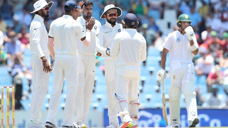 INDvsSA : पहले दिन का खेल खत्म, अफ्रीका ने 269 रनों पर खोए 6 विकेट