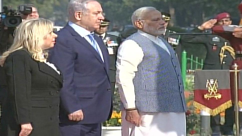 दिल्ली के इस मार्ग से है इजरायल का खास रिश्ता, नेतन्याहू को साथ लेकर पहुंचे PM मोदी