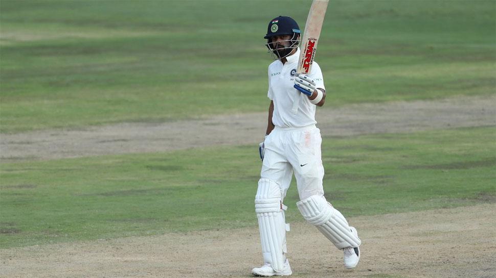INDvsSA : दूसरे दिन का खेल खत्म, विराट 85 पर नाबाद, 183 रन पर 5 विकेट गिरे