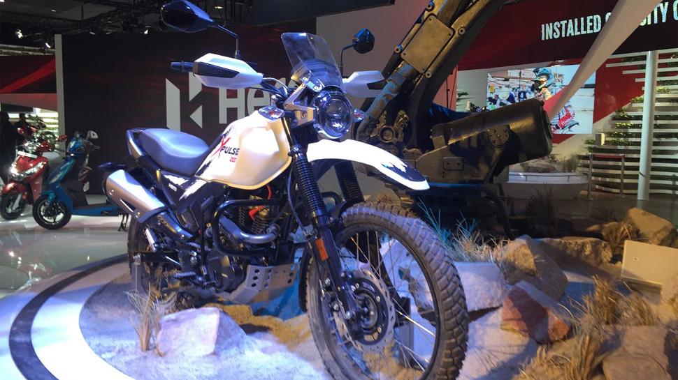 Auto Expo : ये है हीरो की पहली एडवेंचर बाइक, पढ़िए कितनी दमदार है यह
