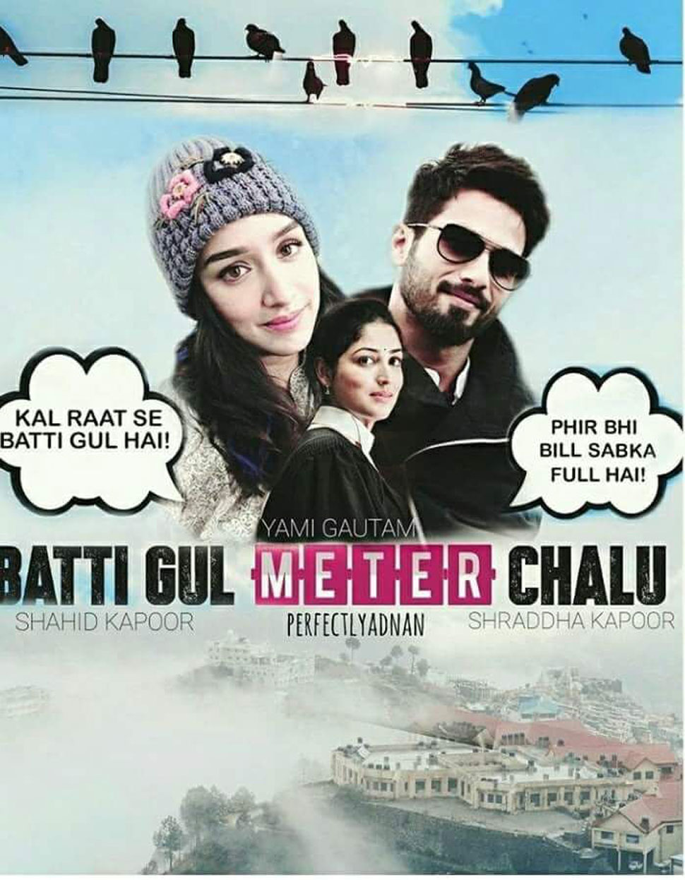 Image result for latest images of batti gul meter chaalu
