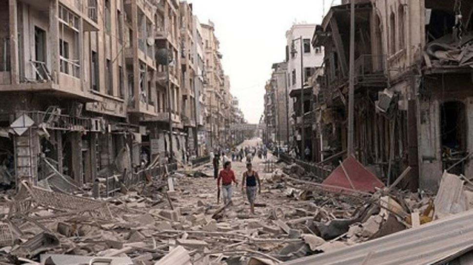 सीरिया युद्ध विराम नाकाम, सैनिक हमले जारी, 127 बच्चों समेत 510 लोग मारे गए के लिए इमेज परिणाम