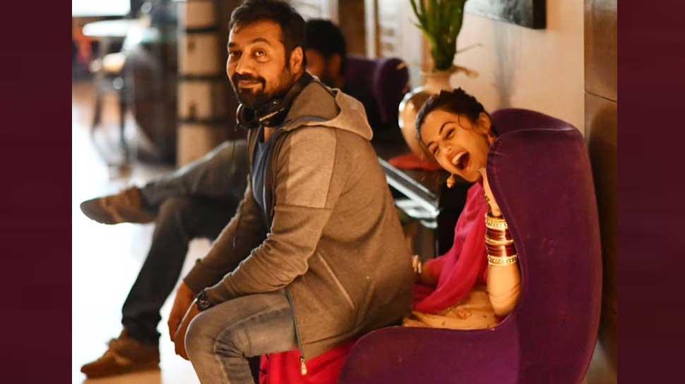 तापसी पन्नू की गोद में बैठ अनुराग कश्यप ने शेयर किया फोटो, हुए Troll