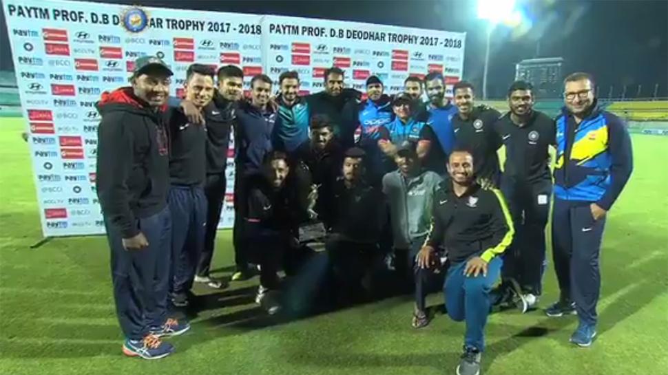 VIDEO : कर्नाटक का विजय रथ थामकर इंडिया-बी बनी देवधर चैंपियन