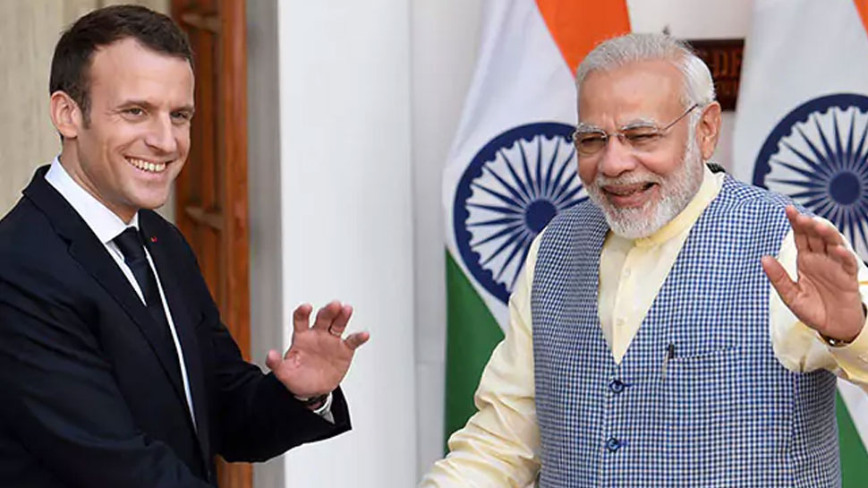 Image result for भारत, फ्रांस की कंपनियों के बीच 1 लाख करोड़ रुपए से अधिक के समझौते