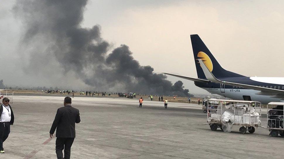 बांग्लादेश का विमान नेपाल में क्रैश, सभी यात्रियों को सुरक्षित निकाला गया