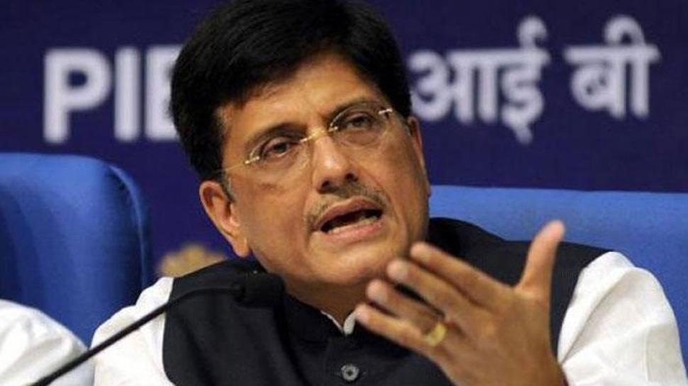 पीयूष गोयल ने रेलवे से कहा, बिजली घरों को कोयला आपूर्ति बढ़ाएं
