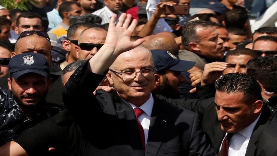 गाजा में फिलिस्तीनी पीएम के पहुंचने के तुरंत बाद हुआ ब्लास्ट, बाल-बाल बचे रामी हमदल्ला