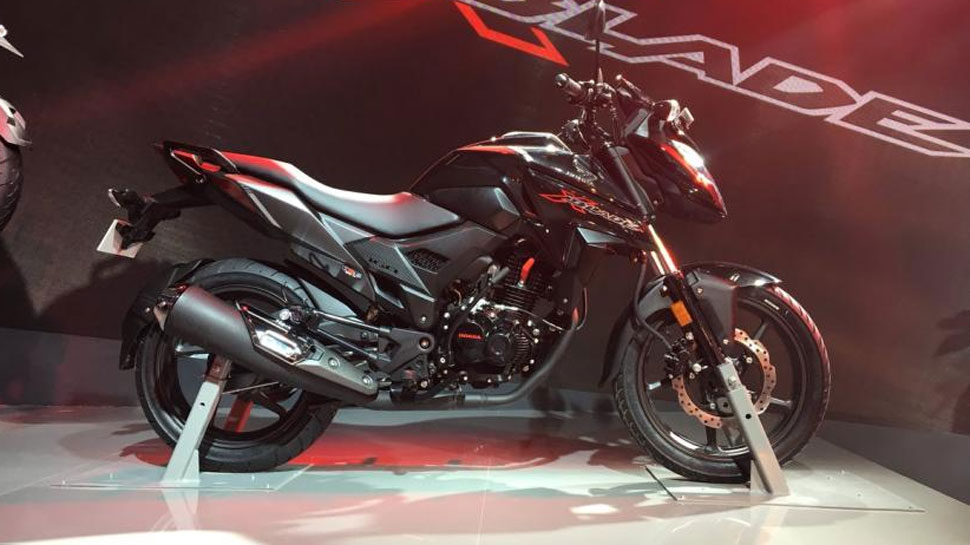 होंडा ने लॉन्च की स्टाइलिश लुक वाली नई बाइक X Blade, ये हैं फीचर्स