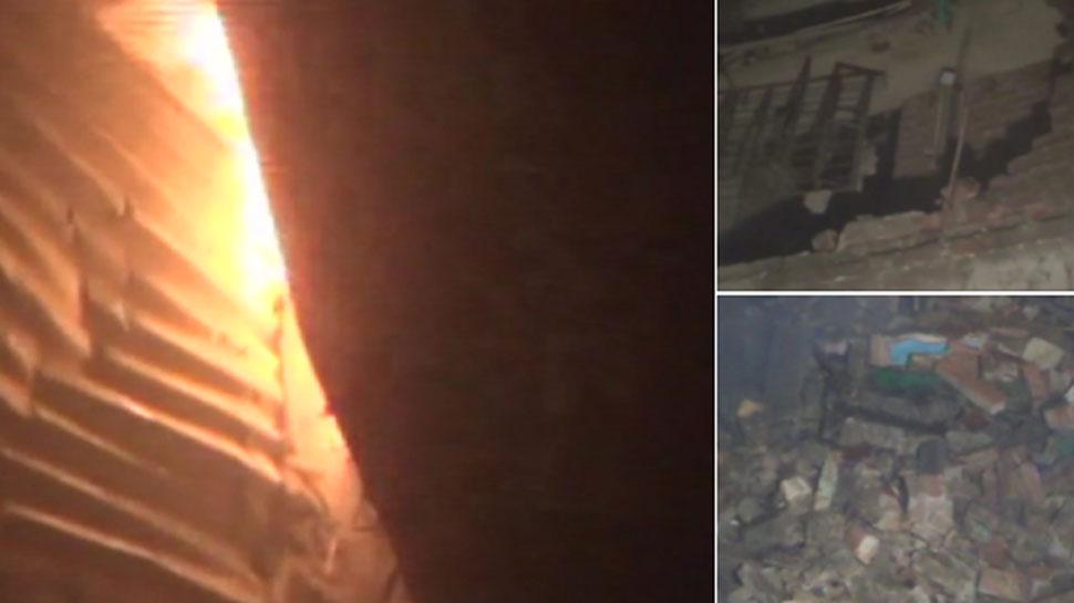 नालंदा: अवैध पटाखा फैक्ट्री में धमाका, अब तक 5 की मौत, ATS जांच के लिए मौके पर पहुंची