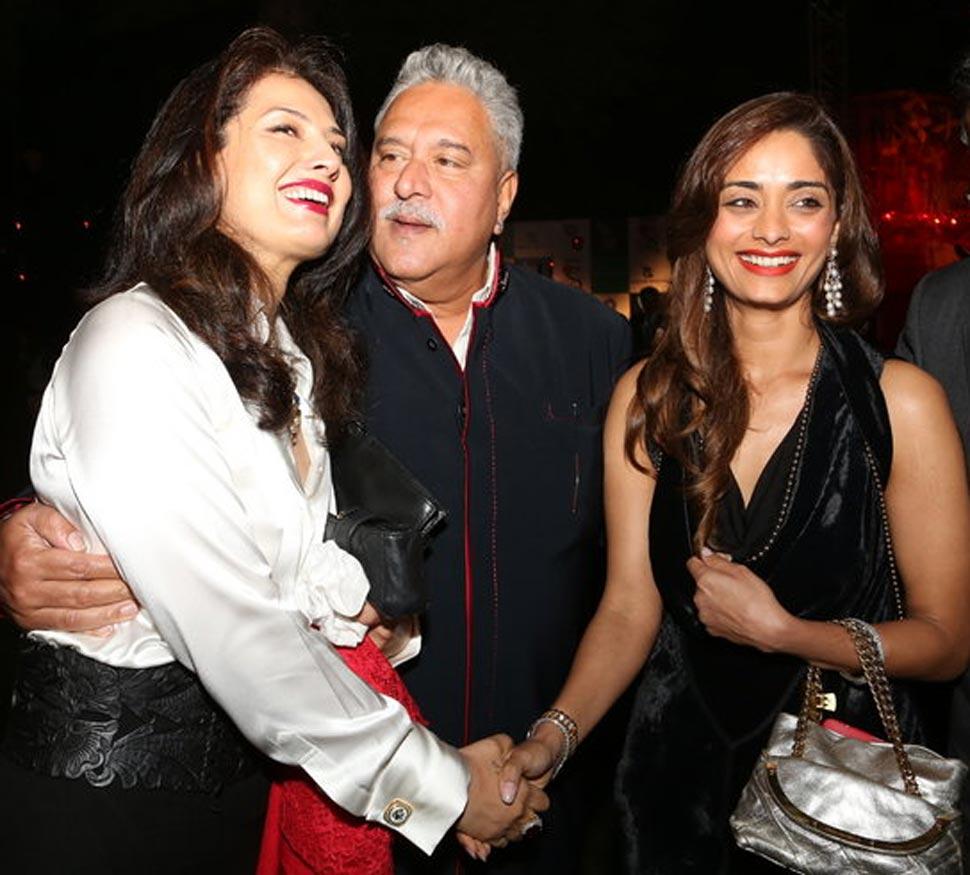 Vijay Mallya Girlfriend Pinky Lalwani Photos