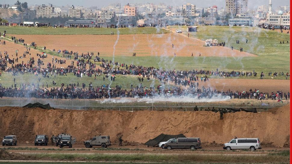 Image result for गाजा में हिंसा के लिए अमेरिका ने हमास को बताया जिम्मेदार