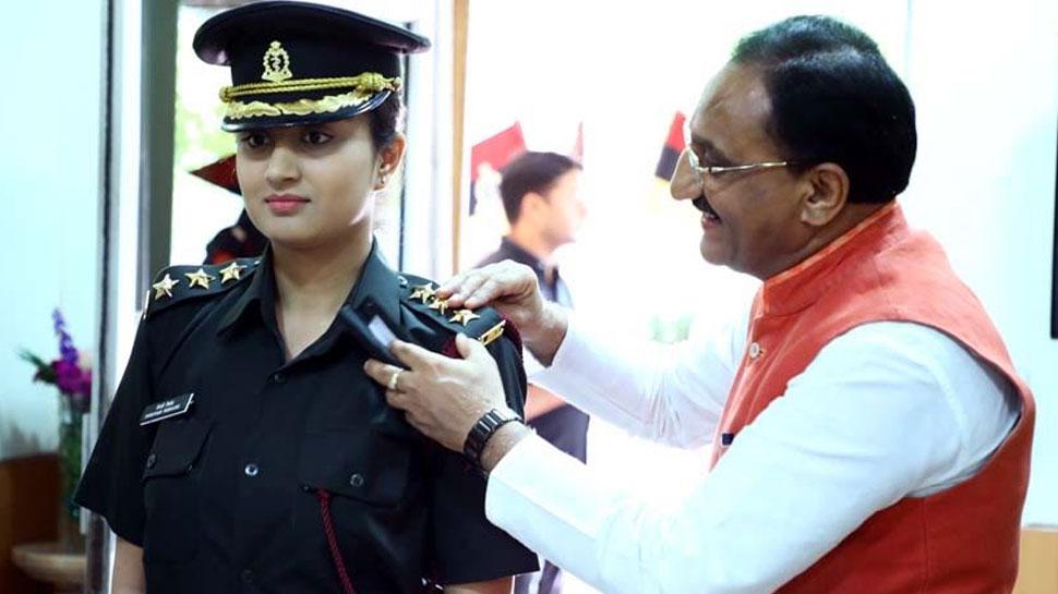 BJP सांसद की बेटी ने पेश की मिसाल, विदेश की नौकरी ठुकरा ज्वाइन की भारतीय सेना