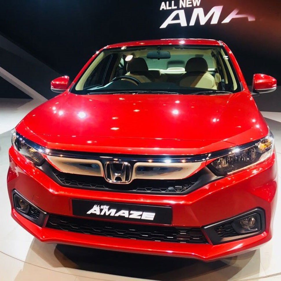 honda amaze pre booking now open at 21000 launch in may