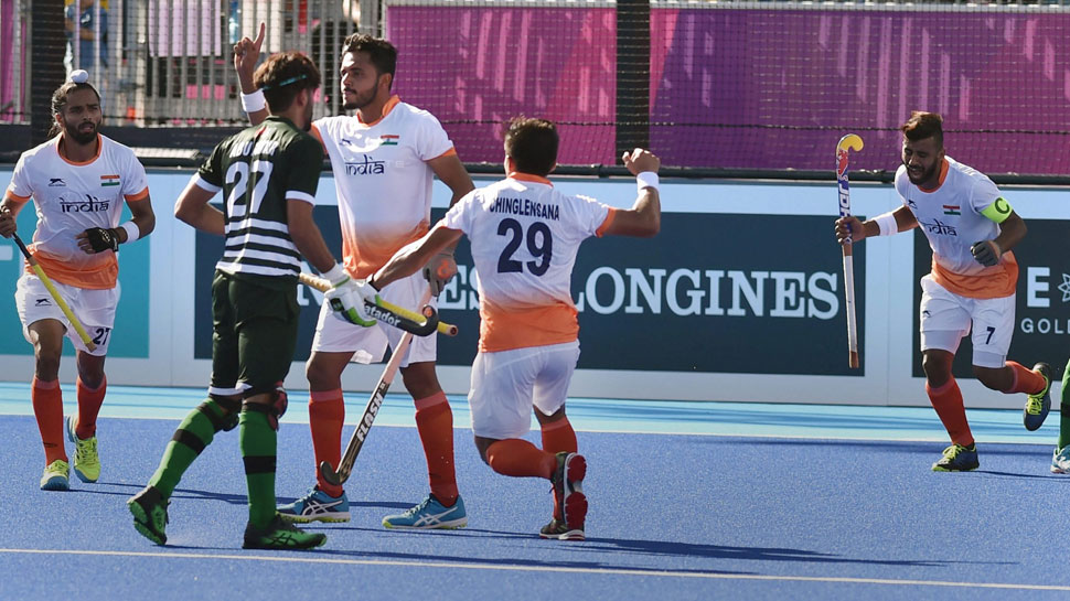 India vs Pakistan hockey match