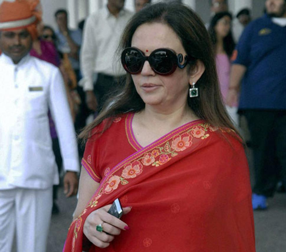 Ladies Special VVIP Security To Nita Ambani