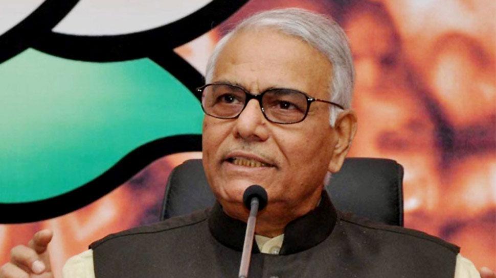 मोदी सरकार से नाराज चल रहे यशवंत सिन्हा ने BJP छोड़ी, लिया राजनीतिक संन्यास