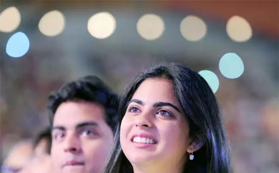 Isha ambani is board member of Reliance Jio and Reliance Retail