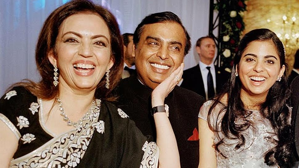 Nita, Mukesh, Kokilaben Ambani celebrated the occasion with a lunch