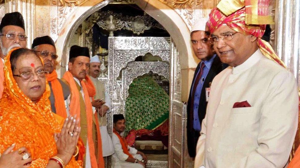 राष्ट्रपति ने ब्रह्म सरोवर में की पूजा-अर्चना, अजमेर शरीफ पर चढ़ाई चादर