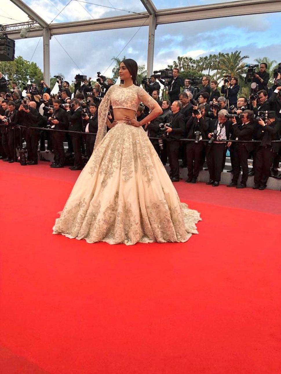 Sonam Kapoor, Cannes 2018