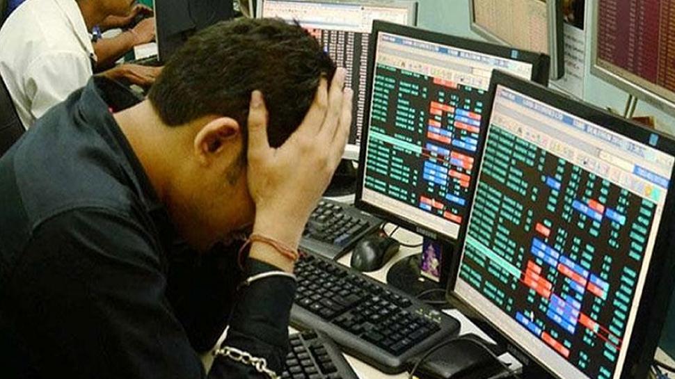 कर्नाटक में BJP के हाथ से पलटी बाजी, घबराया शेयर बाजार, 450 प्वाइंट टूटा