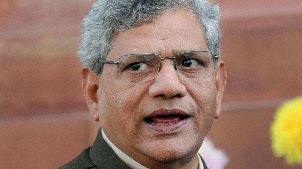 गोवा, मणिपुर, मेघालय में सबसे बड़ी पार्टी को सरकार बनाने का न्योता नहीं दिया गया : सीताराम येचुरी