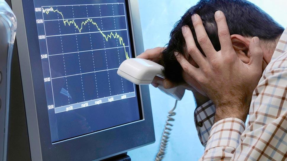 लगातार दूसरे दिन टूटा बाजार, सेंसेक्स करीब 250 अंक टूटा, निफ्टी 10750 के नीचे