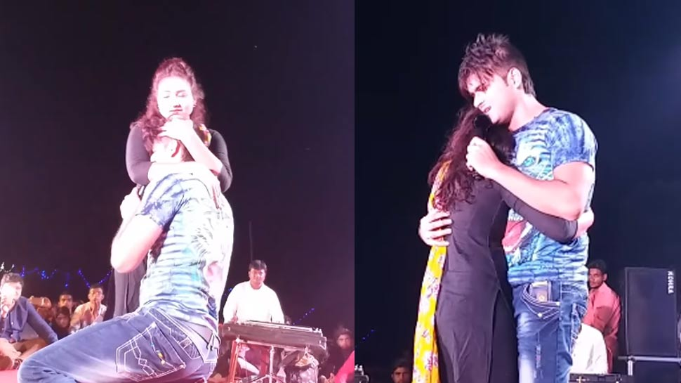स्टेज शो के दौरान जब इस लड़की को पकड़कर फूट-फूटकर रो पड़े अरविंद अकेला कल्लू! देखें VIDEO