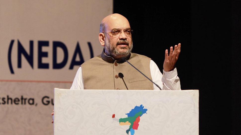 गुवाहाटी में बोले अमित शाह, मिजोरम चुनाव के बाद कांग्रेस मुक्त हो जाएगा नॉर्थ-ईस्ट