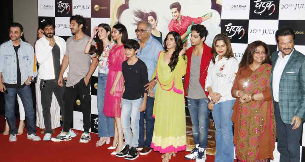 Jhanvi Kapoor, Ishaan Khattar, Dhadak
