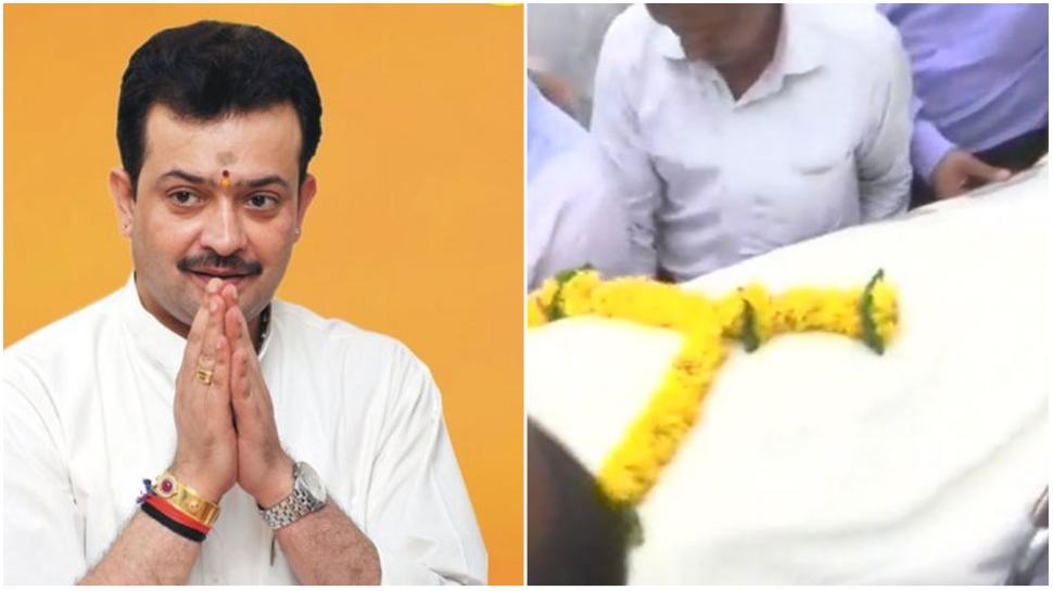 funeral of bhayyuji maharaj