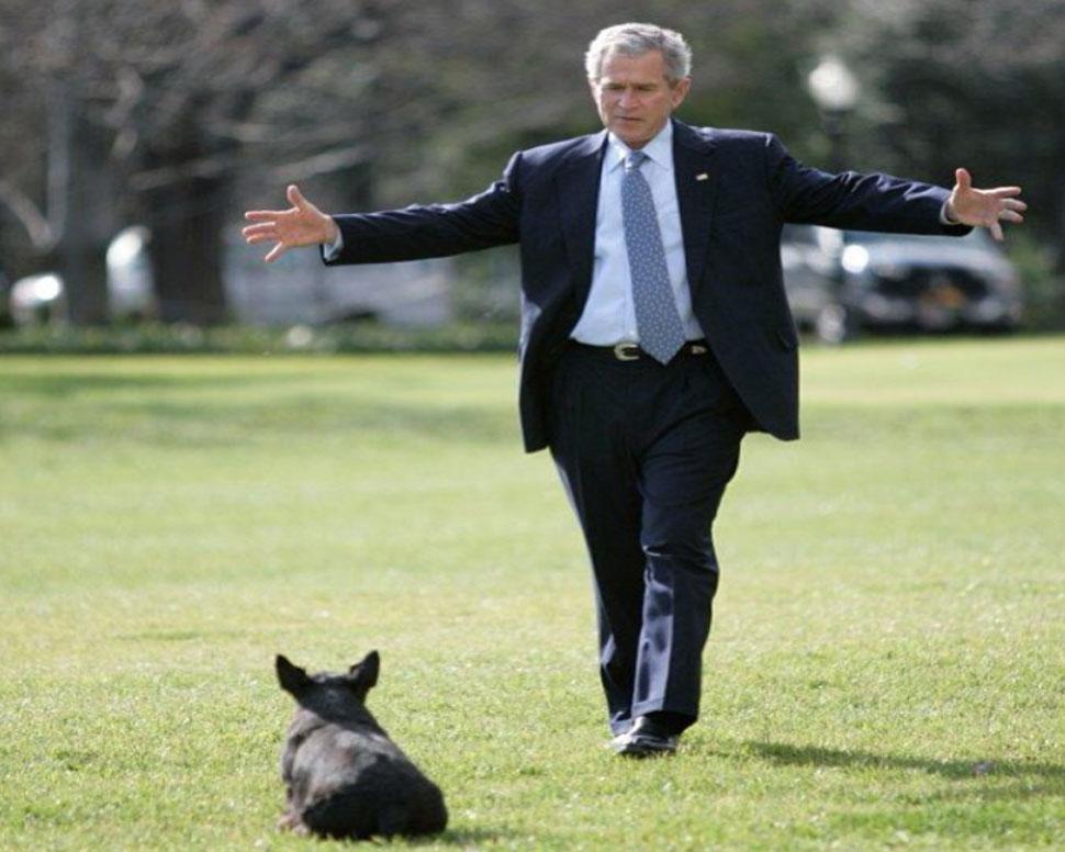 former U.S. presidents George H.W. Bush birthday