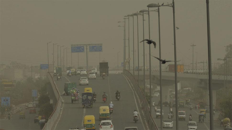 राजस्थान में आंधी के कारण दिल्ली में छाई धूल की धुंध, अगले 3 दिन तक रहने का अनुमान