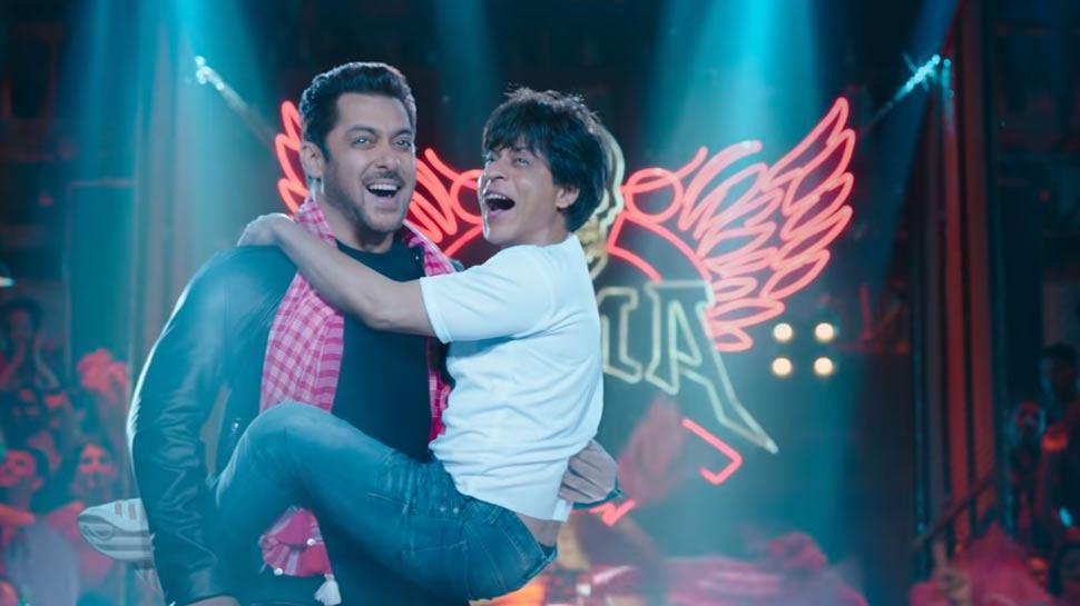 रिलीज हुआ फिल्म ZERO का टीजर, सलमान की गोद में नजर आए शाहरुख खान