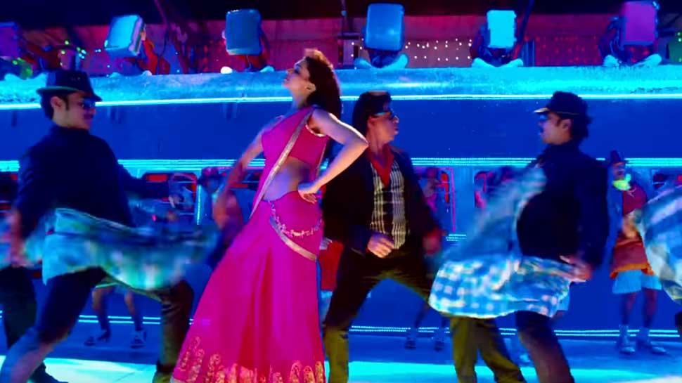 Image result for शाहरुख और दीपिका का नजर आया भोजपुरिया 'लुंगी डांस'