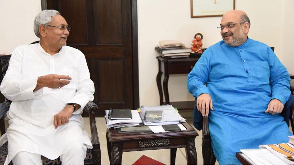 पटना में होगी नीतीश कुमार और अमित शाह की मुलाकात!, सीट शेयरिंग पर हो सकती है बात