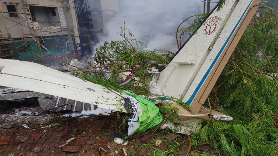 टेस्ट फ्लाइट पर था किंग एयर C-90 एयरक्राफ्ट, टेकऑफ करते ही पायलट ने खोया कंट्रोल