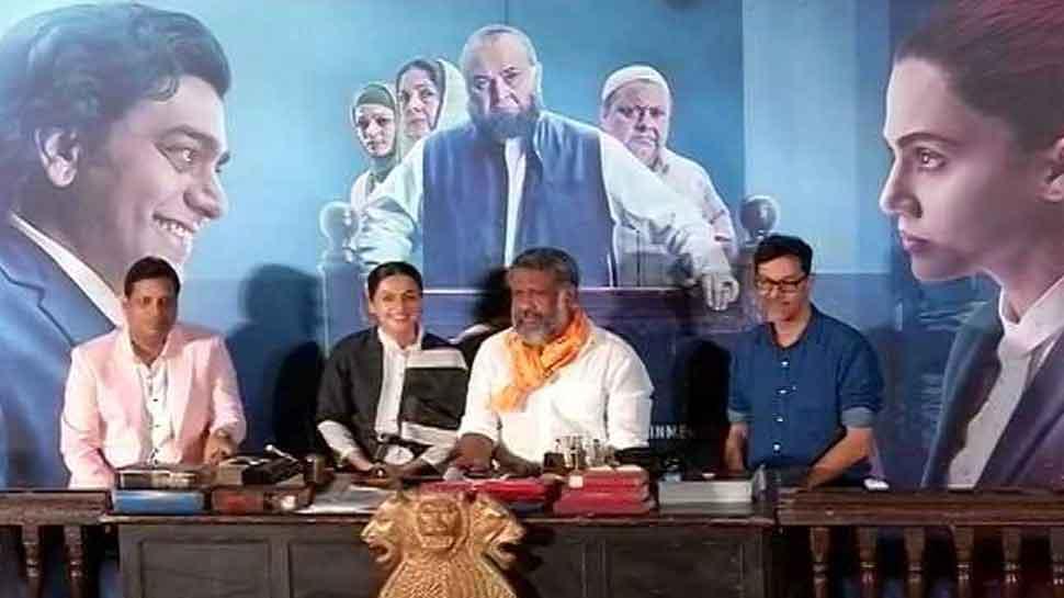 तापसी पन्नू को 'मुल्क' में वकील का किरदार निभाने के लिए अमिताभ बच्चन ने किया इंस्पायर