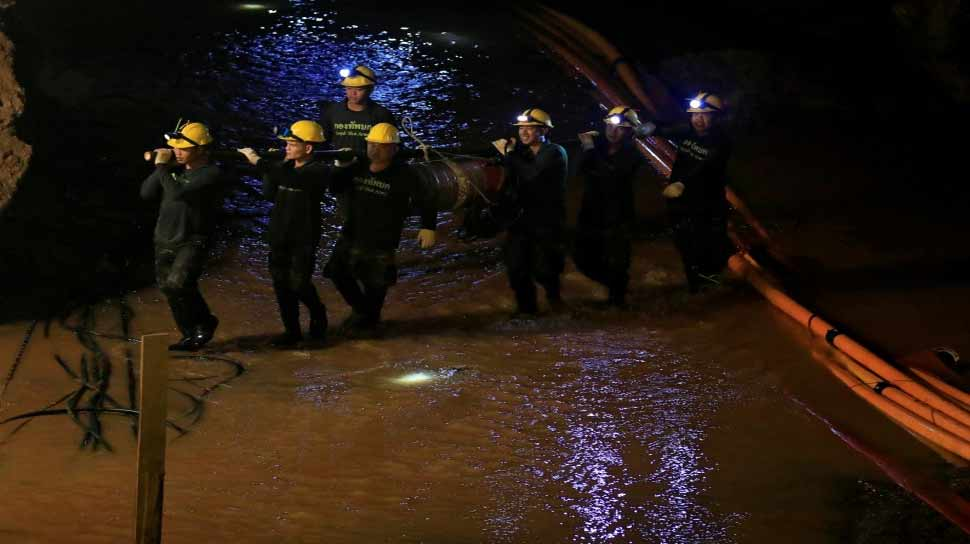 police rescue operation complete in Tham Luang cave