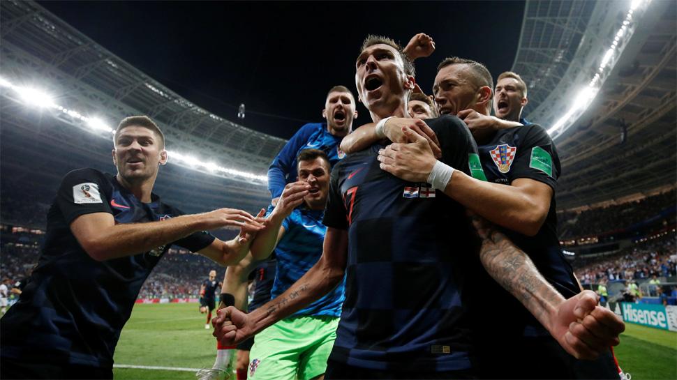 फीफा वर्ल्ड 2018 : इंग्लैंड को मात देकर पहली बार फाइनल में पहुंचा क्रोएशिया