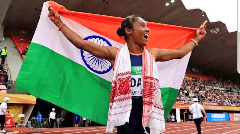 VIDEO : हिमा दास विश्व जूनियर एथलेटिक्स में गोल्ड जीतने वाली पहली भारतीय महिला बनीं