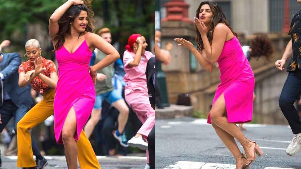 प्रियंका चोपड़ा ने न्यूयार्क की सड़क पर जमकर किया डांस, तेजी से वायरल हो रहा ये वीडियो